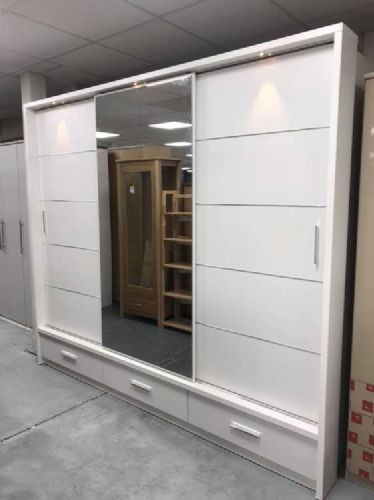Alpha 3 Door  Sliding Wardrobe (Sliderobe)